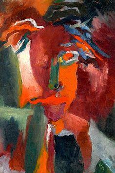 Hans Richter, Portrait visionnaire, 1917