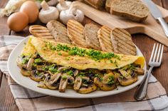 Enjoy this hearty omelet that is also perfect for Phase 2 of the Fast Metabolism Diet.