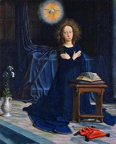 The Annunciation by Gerard David (1506, Oil on wood, 79 x 64 cm)