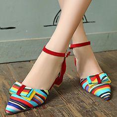 Women's+Shoes+Heel+Heels+Sandals+/+Heels+Outdoor+/+Dress+/+Casual+Black+/+Blue+/+Red/C-12+–+USD+$+25.19