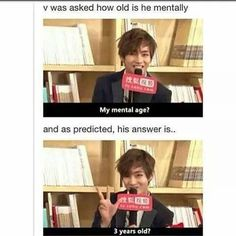 AHHHH HE'S ADORABLE. Lol i guess we are the same cuz thats my mental state