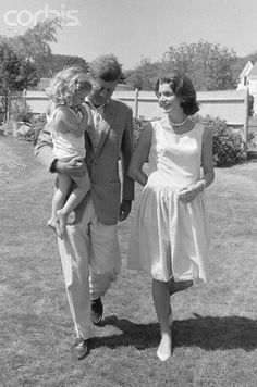 The Kennedy Family in the summer of 1960.