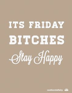 I dont know about you but my week has flown by. Thank god it´s the weekend again! Not to sure what our plans this weekend...