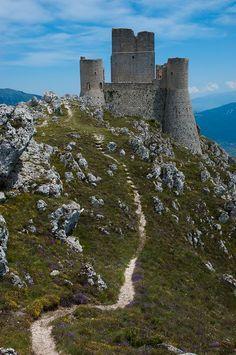 Rocca Calascio, Abruzzo, Italy L'Aquila
