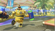 ARMS Mechanica Is Good At Standing Her Ground