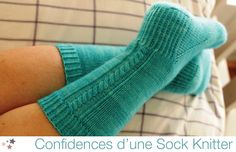 """Apprivoiser la chaussette sur """"in the loop"""" Knitting Socks, Diy Crochet, Knitting Projects, Slippers, Stockings, Stitch, Loop, Pull, Arts"""