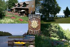 Turtle Creek Lodges and Gardens Manitoulin Island, Love Challenge, Lodges, Turtle, Challenges, Gardens, Money, Cottages, Turtles