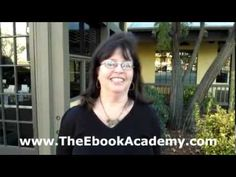 """Andrea Susan Glass of The Ebook Academy shares some words about the """"Make Money With Your Ebook!"""" workshop. http://www.TheEbookAcademy.com #SanDiego"""