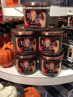 Bath and Body Works Spook-tacular Halloween 2014 Boutique