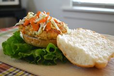 Crab cake with a little bit of cabbage and a whole lot of Beano's Chipotle Sauce. http://conroyfoods.com/