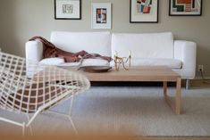 Olohuone nyt Couch, Table, Furniture, Home Decor, Settee, Sofa, Couches, Interior Design, Sofas