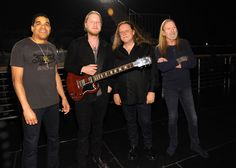 A photo of The Allman Brothers Band by Kevin Mazur/Getty Images