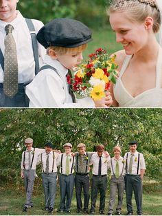 Ohio 100% DIY Wedding from Gina Leigh Photography | Style Me Pretty