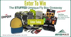 Enter for your chance to win a STUFFED Umpqua fly box & wader pack valued at $350! Click to enter, then get 5 BONUS ENTRIES every time anyone enters from your shared link! Good luck! Enter To Win, I Win, Romance Authors, Look Here, Gift Card Giveaway, Ceremony Decorations, Fly Fishing, Guitars, Fun Stuff