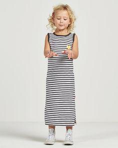 Maxi jurk voor meisjes #streepjes #zomer #Claesens