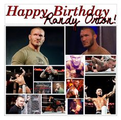 """""""Happy Birthday Randy Orton!"""" by caton-486 ❤ liked on Polyvore featuring Apex"""