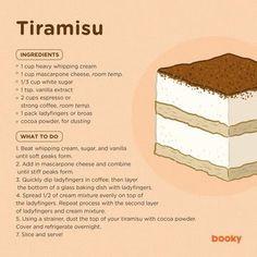 Resepi Tiramisu Mango Float, Refrigerator Cake, Cafe Rico, Cute Food Art, Good Food, Yummy Food, Mascarpone Cheese, No Bake Cheesecake, Vanilla Sugar