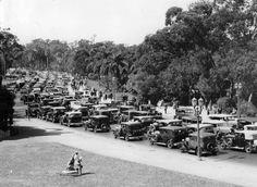 Buenos Aires. Parque 3 de febrero (Palermo), principios del siglo XX. #moscato