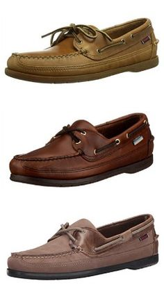 Sebago Men's Schooner Slip Resistant Work Brown Boat Shoes 6 M Brown Boat Shoes, Loafers, Slip On, Boots, How To Wear, Stuff To Buy, Travel Shoes, Shearling Boots, Moccasins