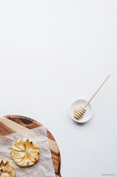 Fiddle and Spoon | THE PIE PROJECT | mini apple and honey galettes | http://fiddleandspoon.com
