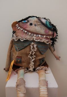 Monster DollsTuptim by Nancy Brown of greedybunnies on Etsy