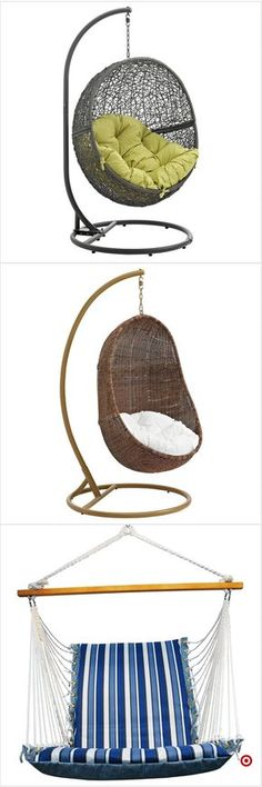 TargetShop Target for swinging chair you will love at great low… Dream Rooms, Dream Bedroom, Room Decor Bedroom, Bedroom Ideas, My New Room, My Room, Girl Room, Hangout Room, Hippy Room