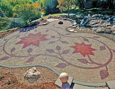 LandscapeOnline.com :: Article : Father and Son Team Uses Interlocking Pavers as Their Canvas