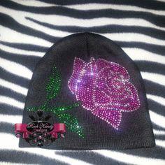 Rose Rhinestone Cap by KandyCoat on Etsy, $20.00