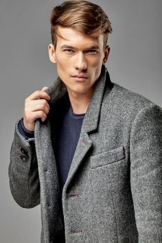 Mens coat, mens wool coat, mens overcoat, wool coat men, mens coats, mens coats, tweed overcoat, men coat, tailored coat, mens wool jacket, classic jacket style coat,mens frock coat, cardigan coat, mens tweed coat, jacket winter coat, tweed coat mens, classic mens overcoat, tweed overcoat men, Italian wool coat.  Classic jacket is tailored of Italian high quality wool. The stylish coat is trimmed with smoothblack leather under the classic lapel collar.  The single breasted piece is finished…