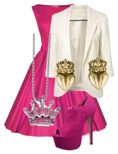 """Aurora from disney's sleeping beauty"" by mknau837 ❤ liked on Polyvore featuring Kevin Jewelers"