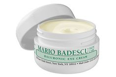 "These Eye Creams Are Like Coffee For Your Face #refinery29 http://www.refinery29.uk/best-under-eye-cream#slide-9 This eye cream from Mario Badescu is all about getting moisture to the undereye area, using the beloved hyaluronic acid. Plus, it absorbs quickly so you can wear it day and night and not worry about your makeup sliding around. Mario Badescu Hyaluronic Eye Cream, available at <a href=""http://www.ulta.com/ulta/browse/productDetail.jsp?productId=xlsImpprod620..."