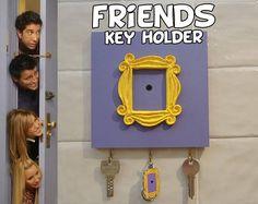 FRIENDS tv show friends peephole frame Wall Mounted Key Holder