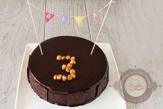 Surprises et gourmandises - Entremets dulcey, noisette et gianduja