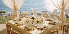 Wedding on the Water: A Guide to Throwing the Perfect Seaside Reception  - TownandCountryMag.com