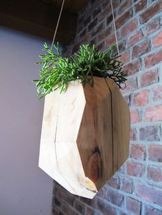 faceted planters :: | 143 project home cool beans!