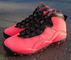 "Air Jordan 10 Retro GS ""Fusion Red"""