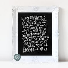 Lettering Guide, Hand Lettering, Pretty Letters, Wedding Letters, Bible Verse Art, Grandma Gifts, Letter Board, Blessed, Journaling