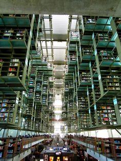 Biblioteca Vasconcelos | Mexico DF ©ND