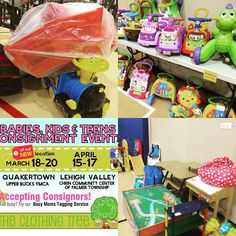 We are busy checking in items for this weeks sale in #quakertown see dates and times on our website. http://ift.tt/1WmjTga  #consignment #babies #kids #lehighvalley
