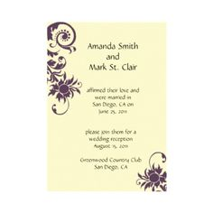 after the wedding party invitations or elopement party invitations, Wedding invitations