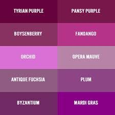 Tyrian Purple Google Search Color Code Prom Colors Paint