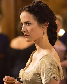 The Enchanted Garden - Eva Green as Vanessa Ives in Penny Dreadful (TV. Penny Dreadful Tv Series, Eva Green Penny Dreadful, French Actress, Gorgeous Women, Beautiful Gowns, My Girl, Instagram, Hair Beauty, Celebs