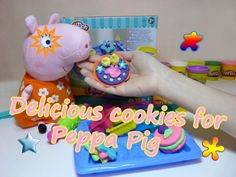 Make delicious cookies for Peppa Pig with Cookie Creations Play Doh