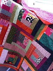 Licorice Allsorts Quilt - I love the name of this quilt.