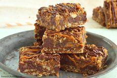 Carmelitas – caramel chocolate oatmeal bars recipe