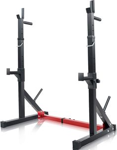 Vanswe Multi-Function Barbell Rack 550LBS Capacity Dip Stand Home Gym Fitness Adjustable Squat Rack Weight Lifting Bench Press Dipping Station*** Click on the image for additional details. (This is an affiliate link) #strengthtrainingequipment Strength Training Equipment, Bench Press, Gym Fitness, Barbell, Weight Lifting, Gym Workouts, Squats, Dip, Image
