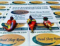 courses of glass  heart  , Rankoussi technique in Rome via Sora 30 / 31 Rome Italy   BEAD SHOP ROME ®