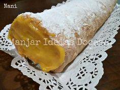 Torta com curd de laranja - http://gostinhos.com/torta-com-curd-de-laranja/