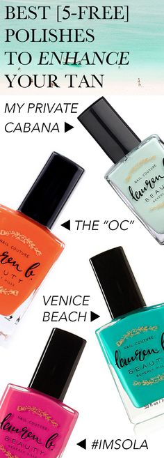 Top-Rated, 5-Free, Cruelty-Free, & Vegan Polishes by Lauren B. Beauty