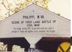 Bridge at Philippi (West) Virginia